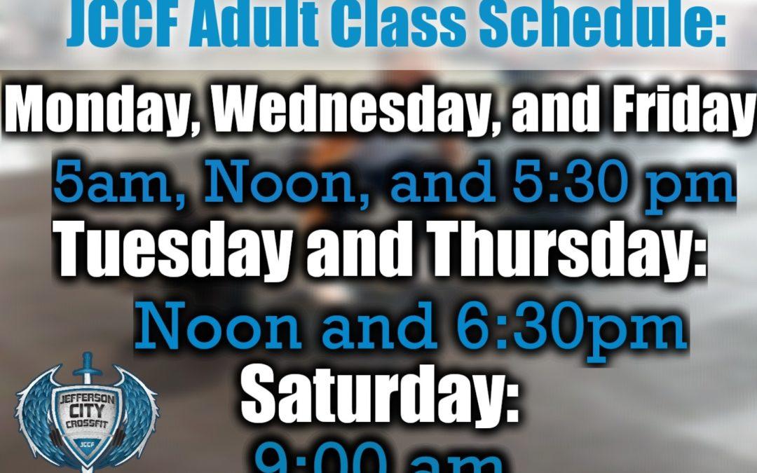 JCCF Online Schedule